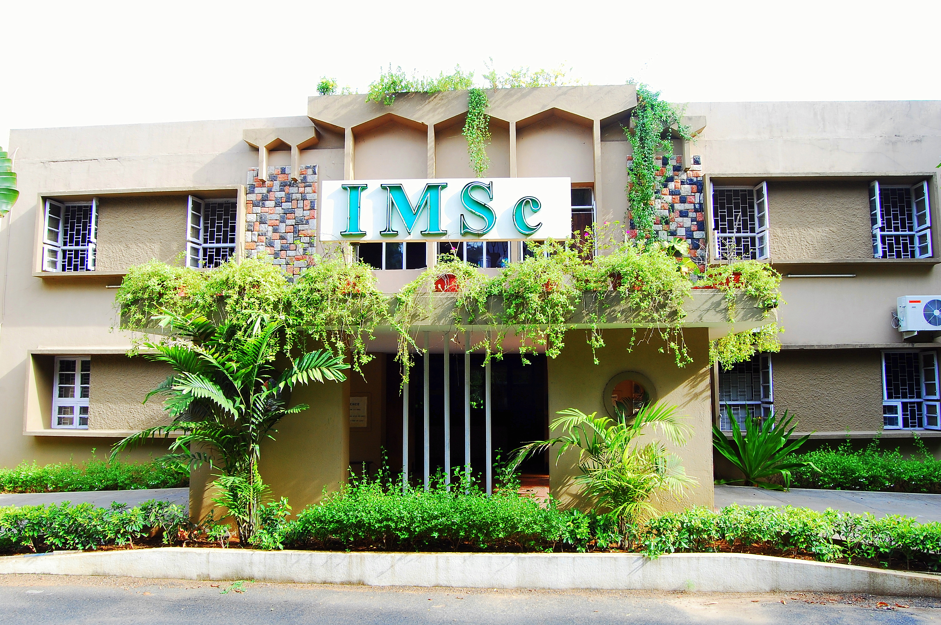 Institute of Mathematical Sciences. Photo credit: IMSC.