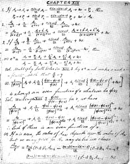 small essay srinivasa ramanujan Srinivasa ramanujan was a largely self-taught in the south east of india his father was k srinivasa who earned a small amount of money each month as a.